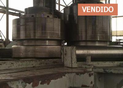 #03519 – Curvadora de perfiles XZP120/15 – video ▶️