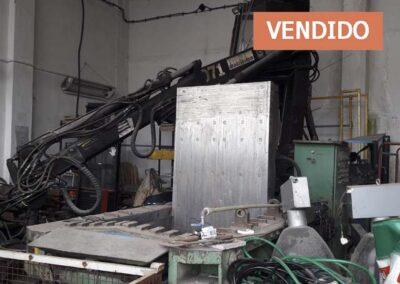 #04801 – Compactadora hidráulica ZDAS CPA 100 – video ▶️ – vendido a Chile