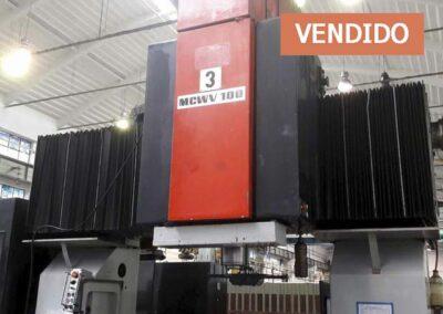 #05024 Centro de Maquinado de Doble Columna MAS MCWV100