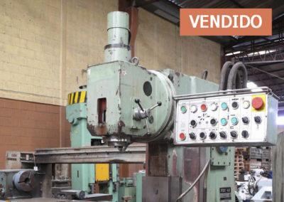 #0822 – Fresadora vertical TOS FGV40 – vendido CDMX