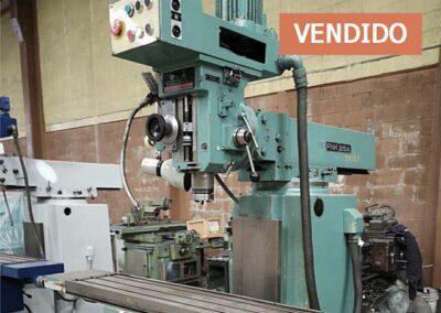 #0831 – Fresadora herramental TOS FNK25A – vendido Toluca