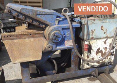 #04869 Cortadora hidráulica de chatarra Cayman 60 mm – video ▶️