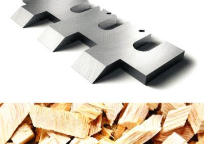 #04935-3 Cuchillas astilladoras y accesorios Pilana