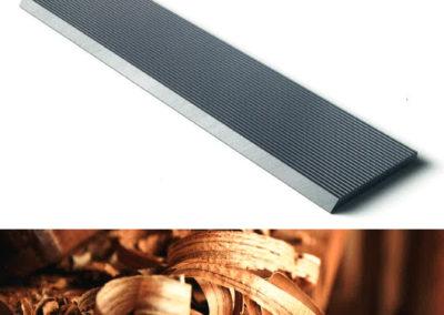 #04935-2 Cuchillas para elaboración secundaria de la madera Pilana