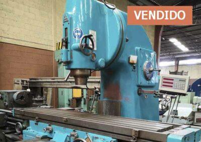 #0829 Fresadora vertical TOS FA5V – vendido Tlaxcala