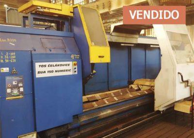 #04999 Torno paralelo TOS SUA150/5000 CNC Numeric