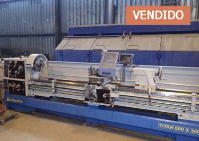 #05113 – Torno paralelo Bernardo TITAN 660/3000