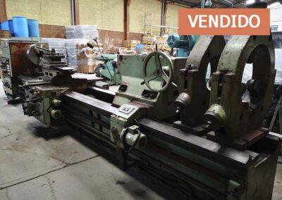#0865 Torno paralelo TOS SU100/4000 – vendido Veracruz