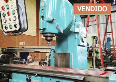 #0869 Fresadora vertical TOS FA5V – video ▶️
